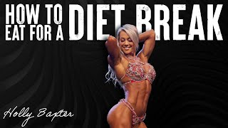 Why Your Diet Break Isn't Working | Calculating Diet Break Macros | Holly T. Baxter