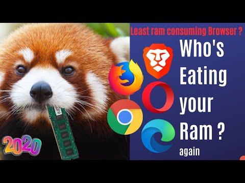 Brave Vs Opera Vs Edge Beta Vs Chrome Least RAM Consuming Browser In 2020   Best Browser In 2020