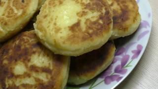 Сырники из домашнего творога//Пышные и румяные сырники//Рецепт вкусных сырников