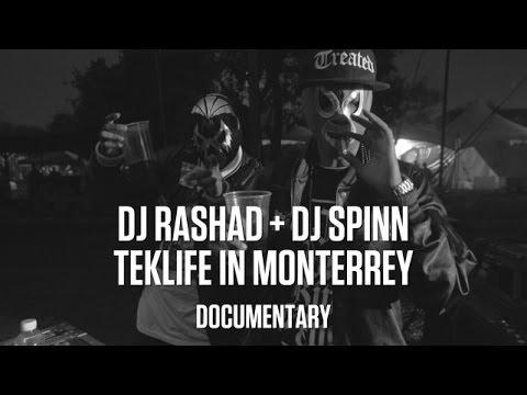 DJ Rashad + DJ Spinn: Teklife in Monterrey (Documentary)