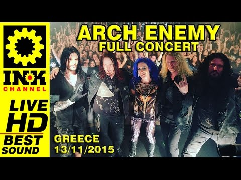 ARCH ENEMY - Full Concert GREECE 2015