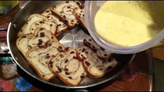 Vlogtober Day 27: Cinnamon Raisin Bread Pudding