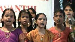 BOMMA BOMMA THA THAYYA THAYYA BY SRI PARUPALLI RAMAKRISHNAIAH PANTHULU SANGEETHA VIDYALAYAM STUDENTS