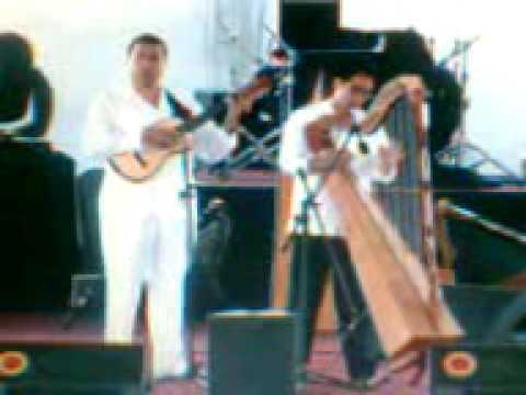 Jair Nieto Arpista y bailarin- Zapateado