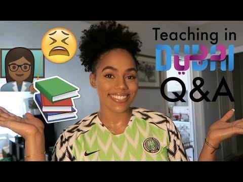 Teaching in Dubai Q&A