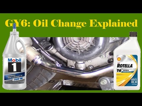 GY6: Oil Change Tutorial