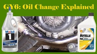 GY6 Oil Change Explained