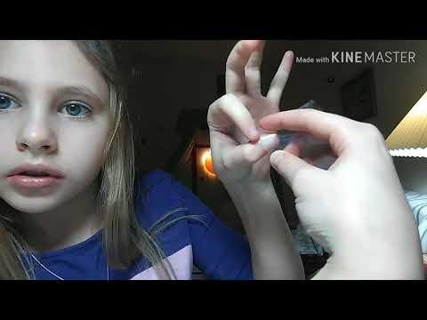 Как сделать накладные ногти из бумаги для детей