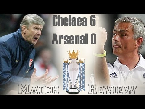Wenger Out! Chelsea vs Arsenal 6-0 2013-14