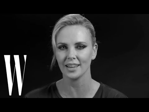 Charlize Theron Talks About Punching Teri Hatcher in the Face | Screen Tests | W magazine