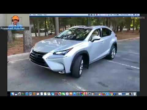 Lexus NX 300h 5 door SUV drive to Texas