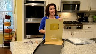 One Million Subs Award Unboxing - Joyofbaking.com