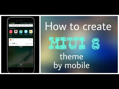 How to create miui theme by using mobile. Miui theme creater