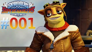 SKYLANDERS SUPERCHARGERS #001 Flynn ★ Let's Play Skylanders SuperChargers [Deutsch]