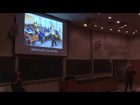 Carl Sagan Medal Lecture - Dr Henry Throop - One Sky: Astronomy Outreach Across the Developing World