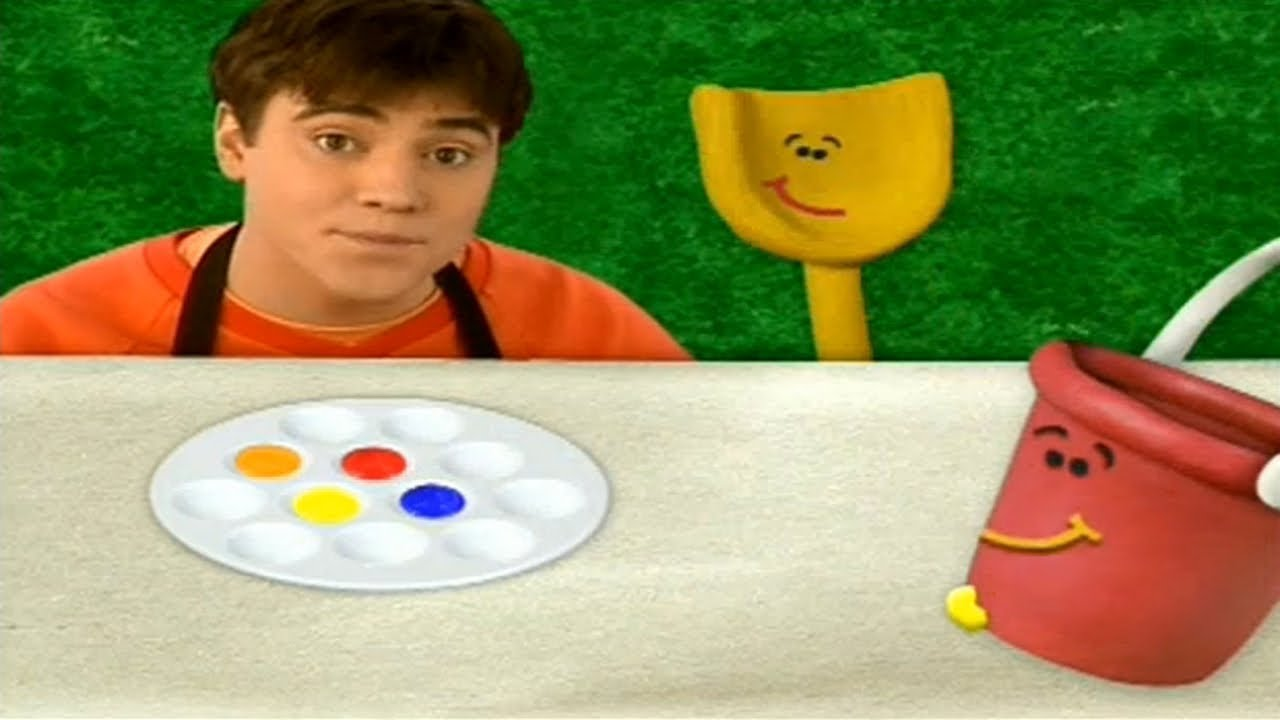 Blue's Clues - Colors Everywhere! - YouTube