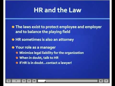 Intro to EEO Law