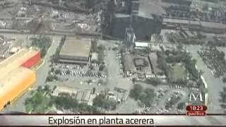 Deja explosión en Ternium, NL, dos muertos y 12 heridos