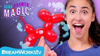 Instant Balloon Animal Trick | JUNK DRAWER MAGIC