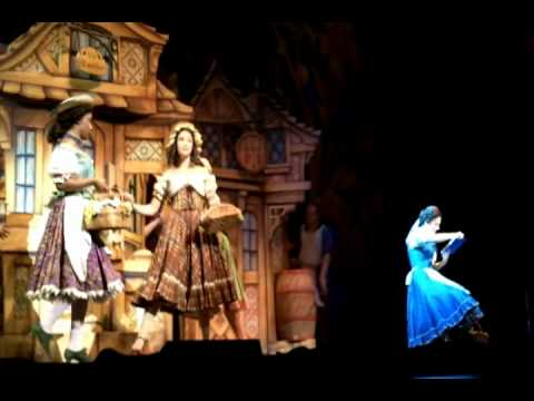 Beauty And The Beast Broadway First Row Seat Youtube