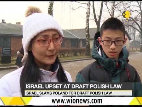 Israel upset at draft polish law
