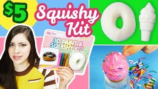 Testing a $5 Squishy Kit | NEW DIY Squishies from 5 Below