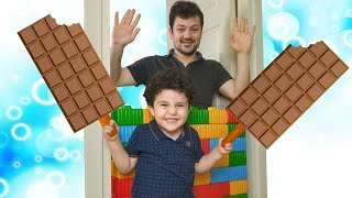 Yusuf'un Sihirli Çikolataları | Johny Johny Yes Papa Song | Learn Colors with Chocolate