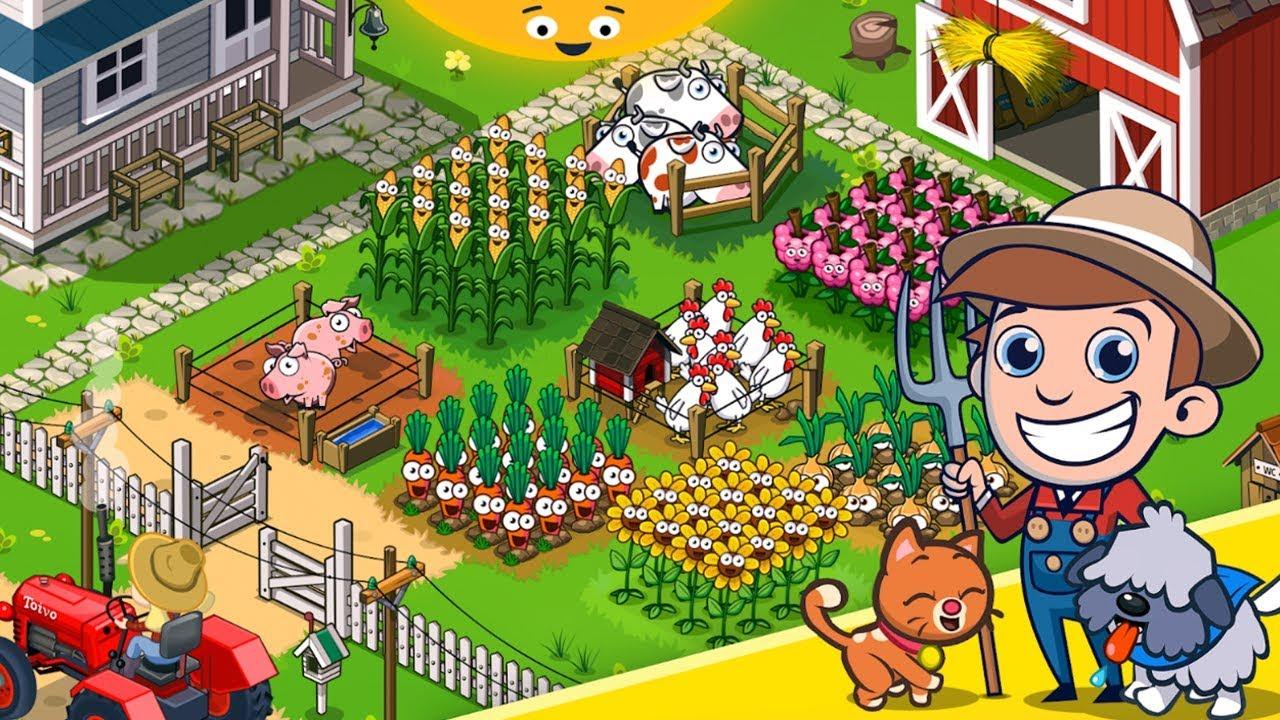 Idle Farming Empire - Gameplay 2019 Walkthrough Part 1 ( iOS, Android )