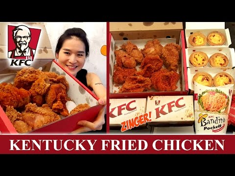 Kentucky Fried Chicken (Eating Show - Mukbang) Peggie Eats S02E03