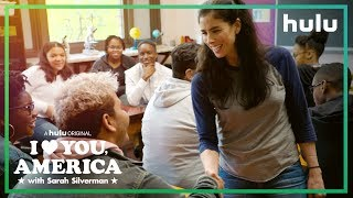 Sarah Becomes Substitute Teacher for a Day | I Love You, America on Hulu