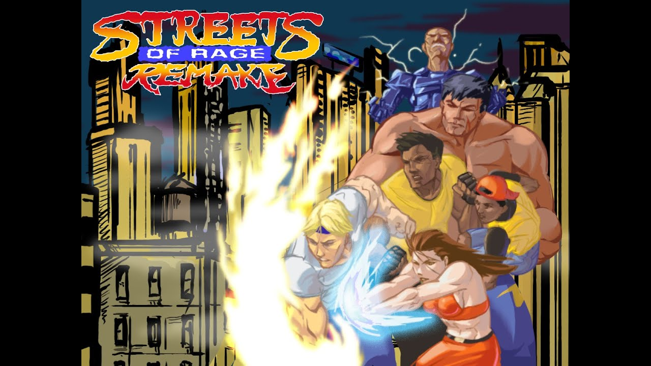 Streets of Rage remake V5 ( SORR ) : présentation et test
