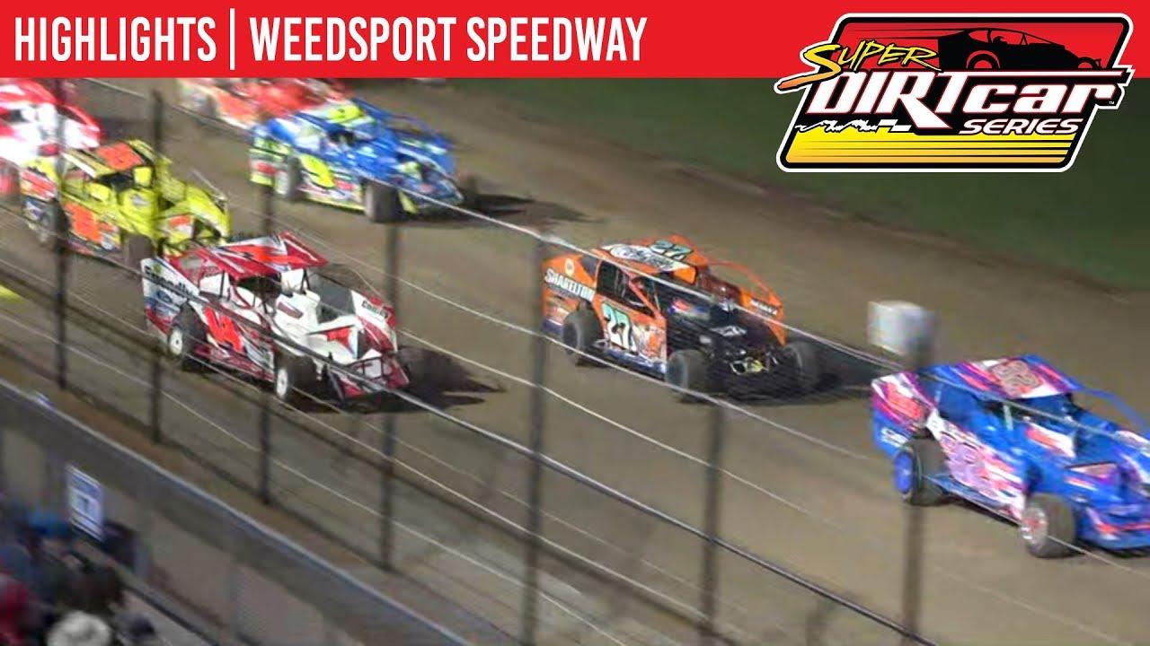 Super DIRTcar Series Big Block Modifieds Weedsport Speedway September 2, 2019 | HIGHLIGHTS