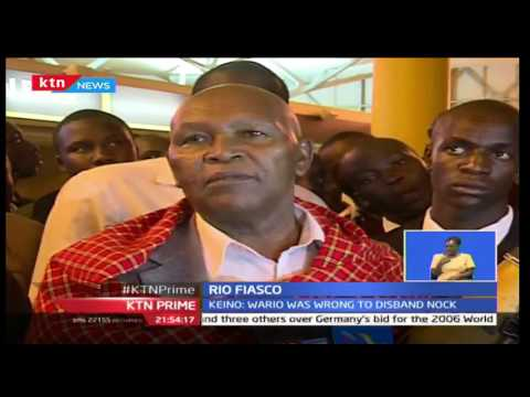 NOCK Chairman Kipchoge Keino says he will stay in office and urges other officials to go back