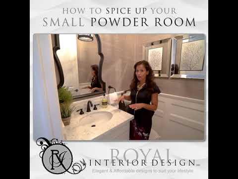 25 Small Powder Room