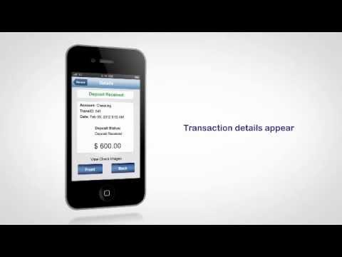 How to use Mobile Check Deposit