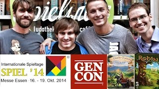 Spiel 2014 vs GenCon, The Staufer, Robin, Board Game Club - Board Game News in English #06