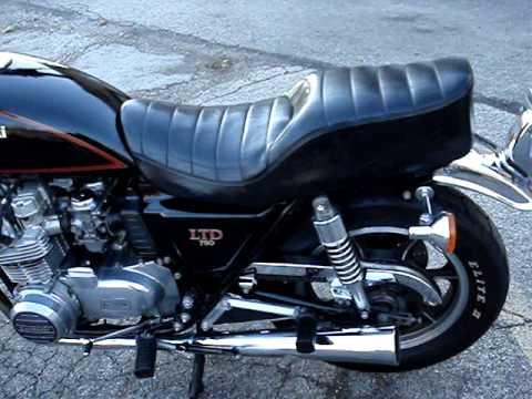 1982 Kawasaki KZ750 LTD - YouTube