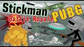 Stickman mentalist. Nick Brown play in the PUBG. Battle Royale