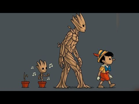 """50+ """"Groot"""" Hilariously Funny  Comics To Make You Laugh."""