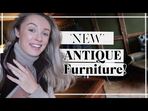 OUR NEW ANTIQUE FURNITURE - IT'S FINALLY PERFECT! // Fashion Mumblr Vlogs