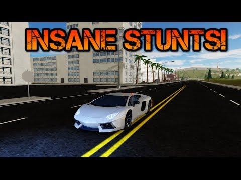 INSANE Stunts, Funny moments and glitches! | ROBLOX: Vehicle