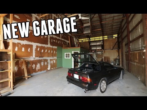 New Garage for the Channel!