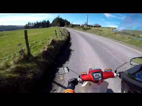 Honda 50-Tallaght to blessington the long way