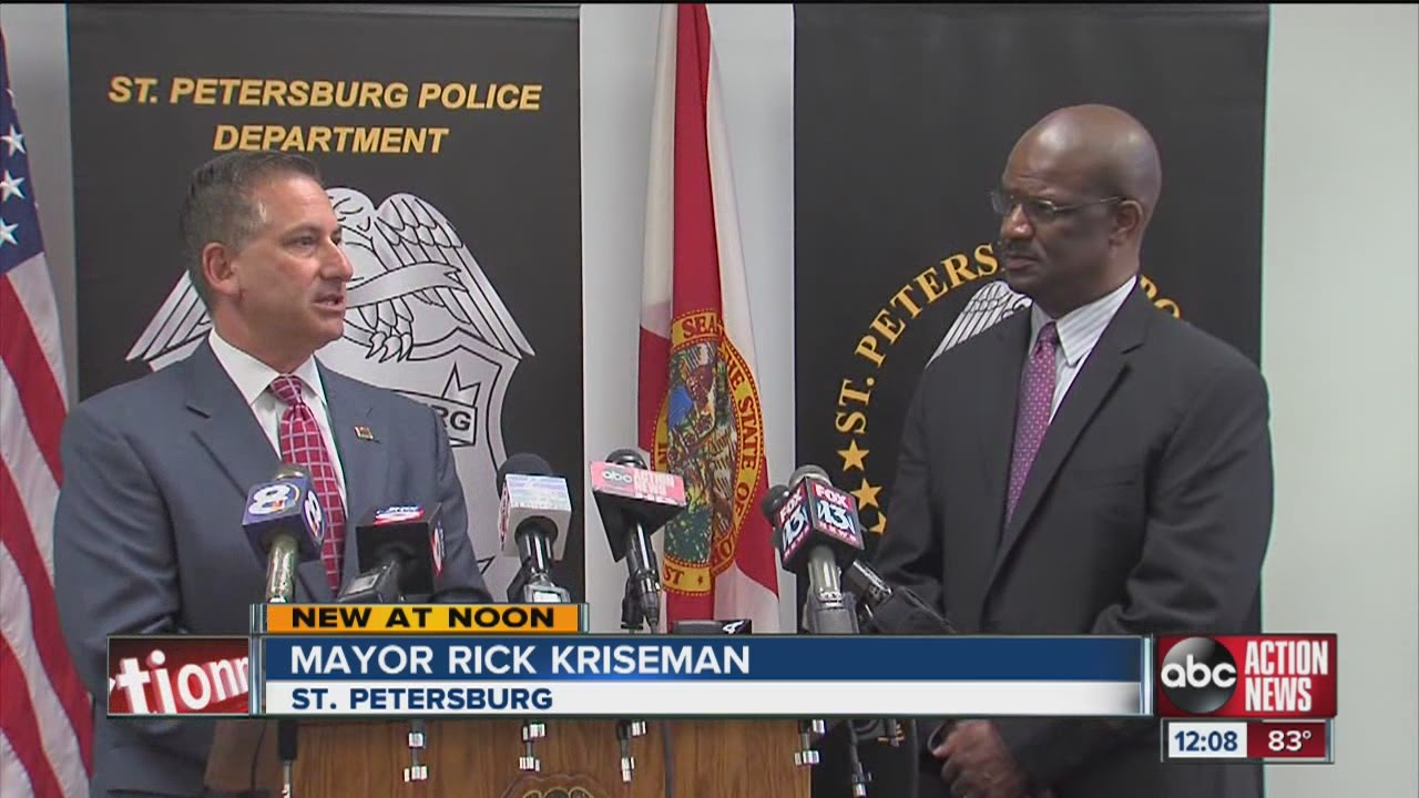 Clearwater Police Chief Anthony Holloway chosen to lead St  Petersburg  Police department
