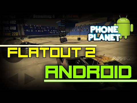 Аналог FlatOut 2 на ANDROID - WORLD OF DERBY - Дерби на андроид 2016 PHONE PLANET