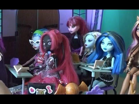 Школа Monster High, серия 129, новая ученица Кэтти Нуар, куклы для девчонок