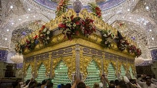 Beautiful Azan in Karbala Live Shrine Hazrat Abbas & Hazrat Imam Hussain