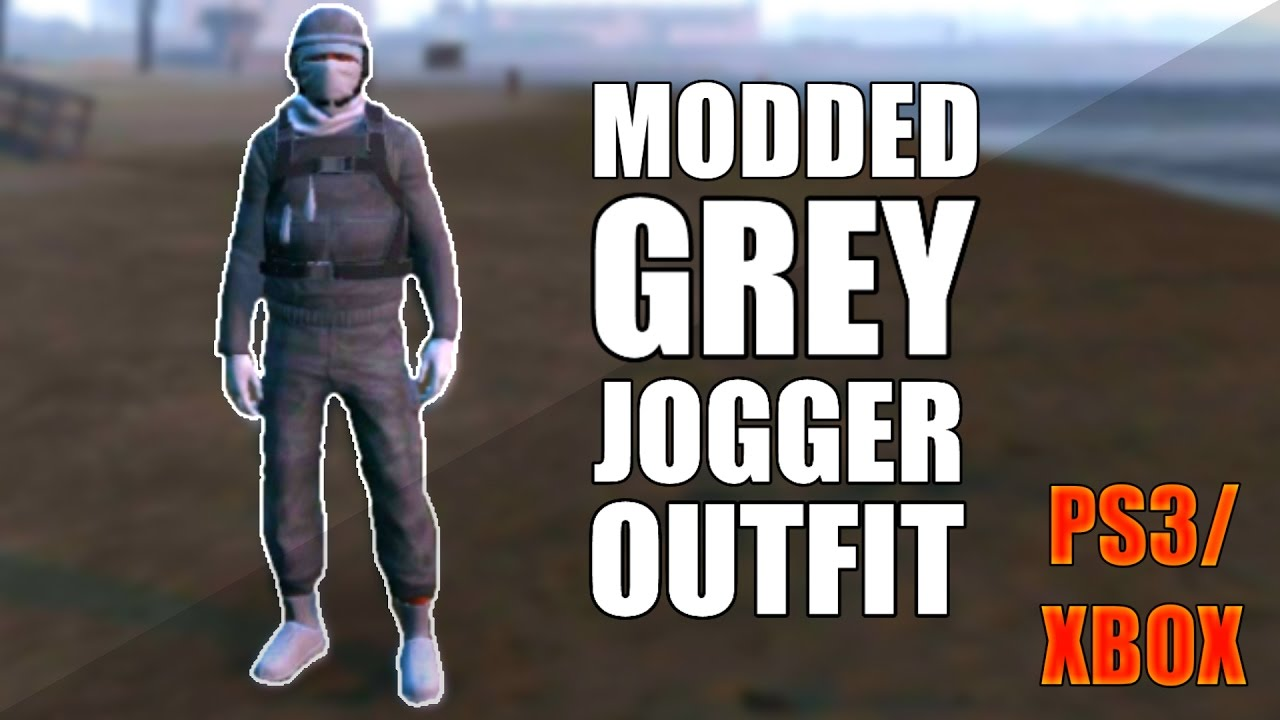 GTA 5 Online Grey Tryhard Modded Outfit PS3/XBOX 1.27 - YouTube