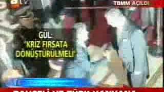 Devlet Bahceli ikinci kez Ahmet Türk'le tokalasiyor!!!