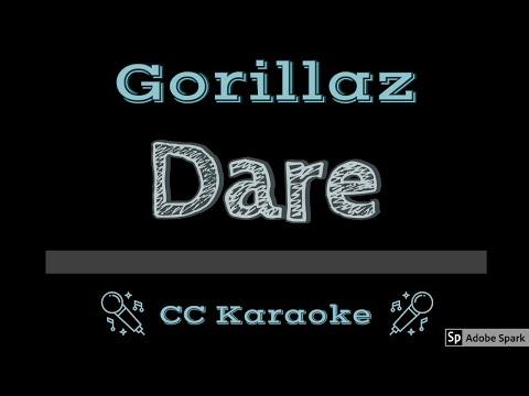 Gorillaz • Dare (CC) [Karaoke Instrumental Lyrics]